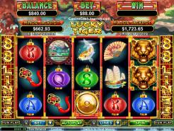 Play Lucky Tiger Slots now!